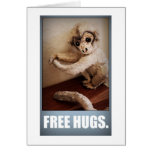 FREE HUGS STATIONERY NOTE CARD