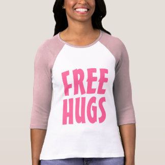 Free Hugs T Shirt for women | Big letters