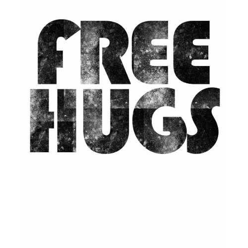 Free Hugs T-Shirt, Retro 80's shirt
