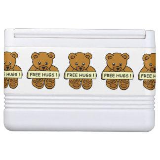 Free Hugs Teddy custom cooler