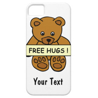 Free Hugs Teddy custom iPhone 5 Case-Mate