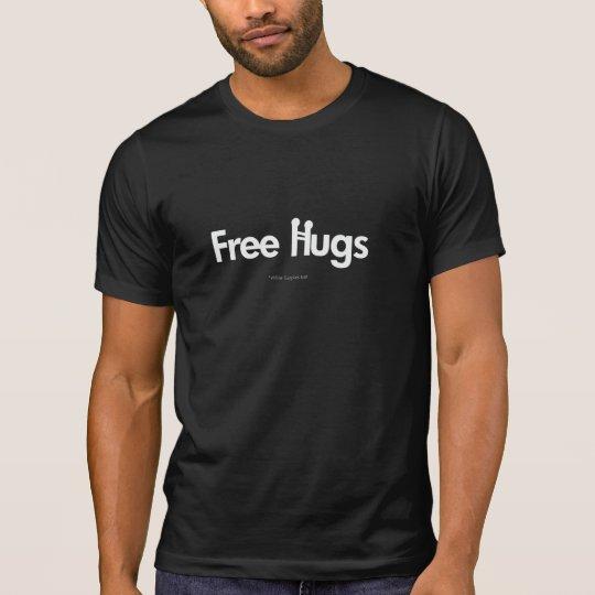 FREE HUGS Tshirt  (Dark colors)