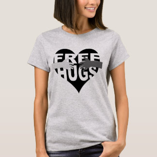 Free Hugs with Heart T-Shirt