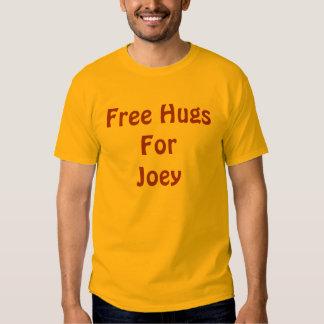 Free HugsForJoey Tee Shirt