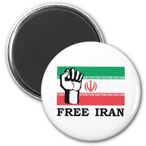 Free Iran 2 Inch Round Magnet
