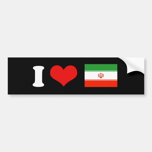 FREE IRAN BUMPER STICKER