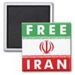 Free Iran Fridge Magnet