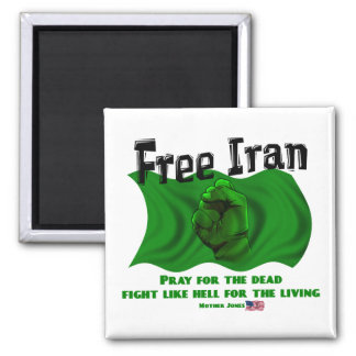 Free Iran, #IranElections Political Elections 2009 Magnet