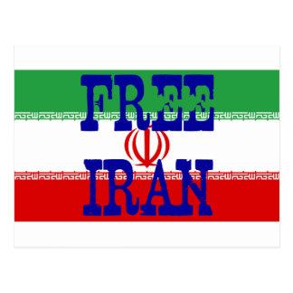 Free Iran Postcard