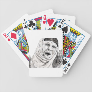 Free Iraq by Free Palestine Bicycle Playing Cards