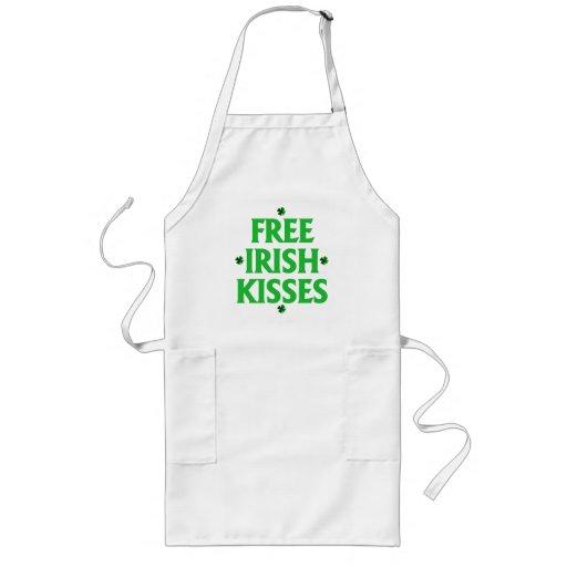 Free Irish Kisses Apron