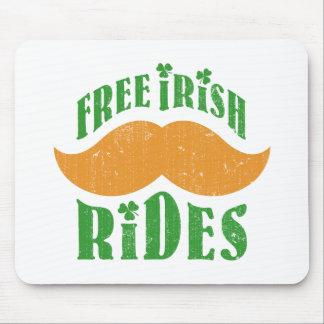 Free irish mustache rides mousepads