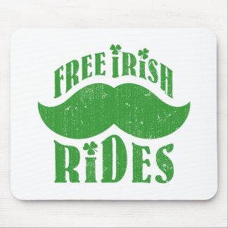 Free irish mustache rides mouse pads