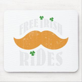 Free irish mustache rides mousepad