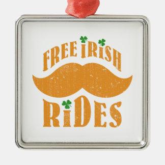 Free irish mustache rides christmas ornaments