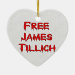 Free James Tillich Christmas Ornaments