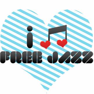 Free Jazz fan Photo Sculpture