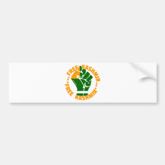 Free Kashmir Bumper Sticker