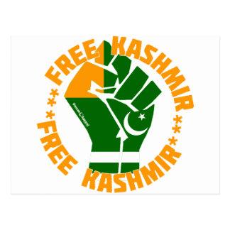 Free Kashmir Postcard