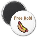 Free Kobi Refrigerator Magnets