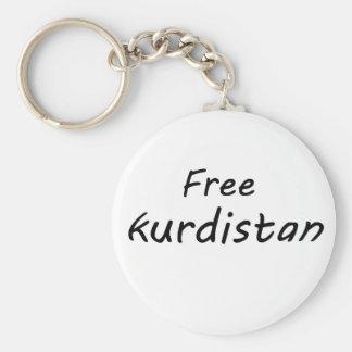 Free Kurdistan Keychain
