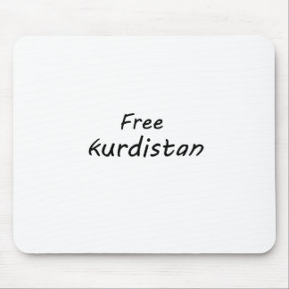 Free Kurdistan Mouse Pad