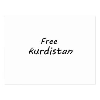 Free Kurdistan Postcard