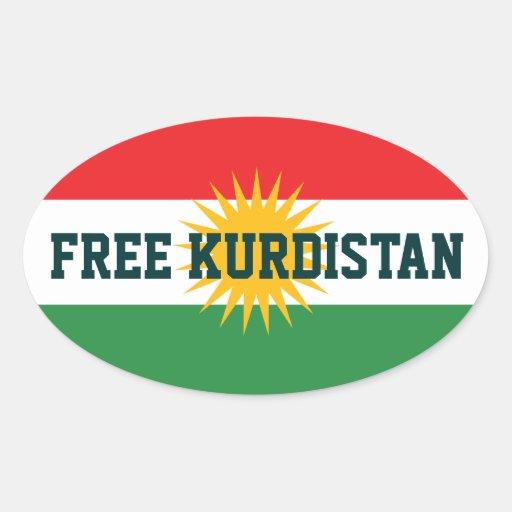 FREE KURDISTAN STICKERS