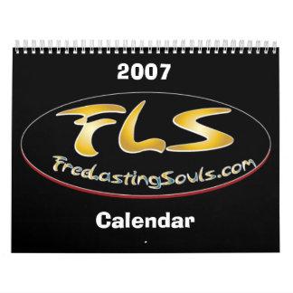 Free Lasting Souls 2007 Calendar