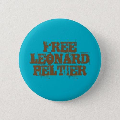 Free Leonard Peltier Button