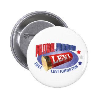 FREE LEVI - Political Prisoner Button