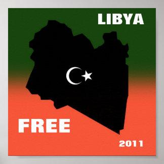 FREE LIBYA 2011 POSTER