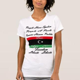 FREE LIBYA- 2011 TSHIRT