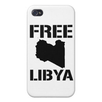 FREE LIBYA black Cases For iPhone 4
