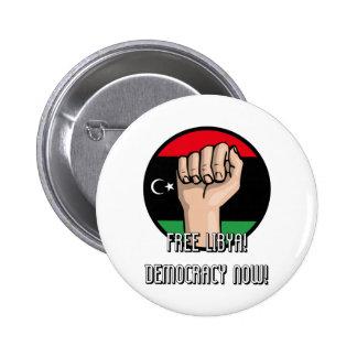 FREE LIBYA 2 INCH ROUND BUTTON