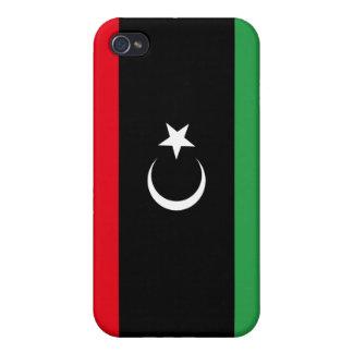 Free Libya Flag iPhone 4/4S Case