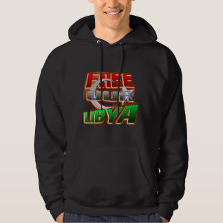 Free Libya Gift for Libyan friends and family Hoodie