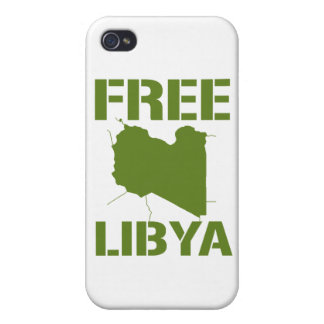 FREE LIBYA green Case For iPhone 4