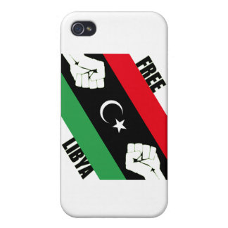Free Libya Cover For iPhone 4