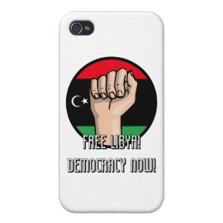 FREE LIBYA CASES FOR iPhone 4