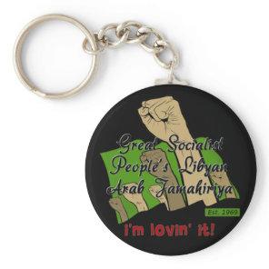 Free Libya Keychain