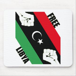 Free Libya Mouse Pad