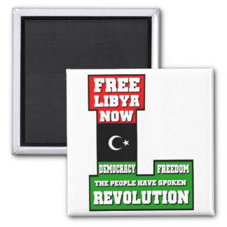 Free Libya Now Magnet