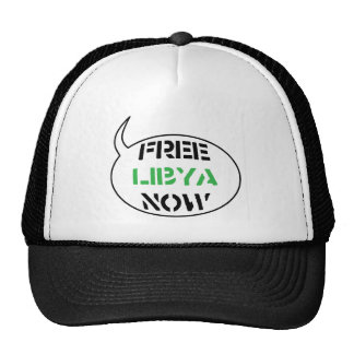 Free Libya Now Trucker Hat