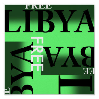 FREE LIBYA POSTER