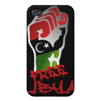 Free Libya Resistance Raised fist - Libya Freedom iPhone 4/4S Case