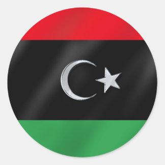 Free Libya Revolution flag of Independence sticker