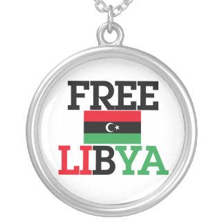 Free Libya Round Pendant Necklace