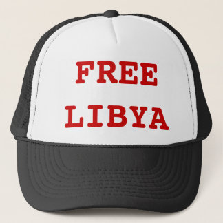 FREE LIBYA TRUCKER HAT