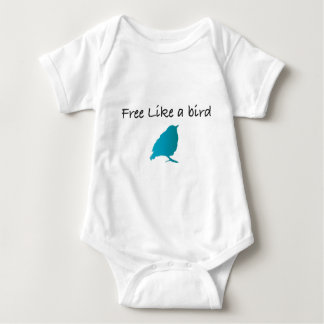 Free like a bird baby bodysuit